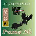 MARY ARM PUMA 36/6 BJ 12/16/70 25 CARTOUCHES