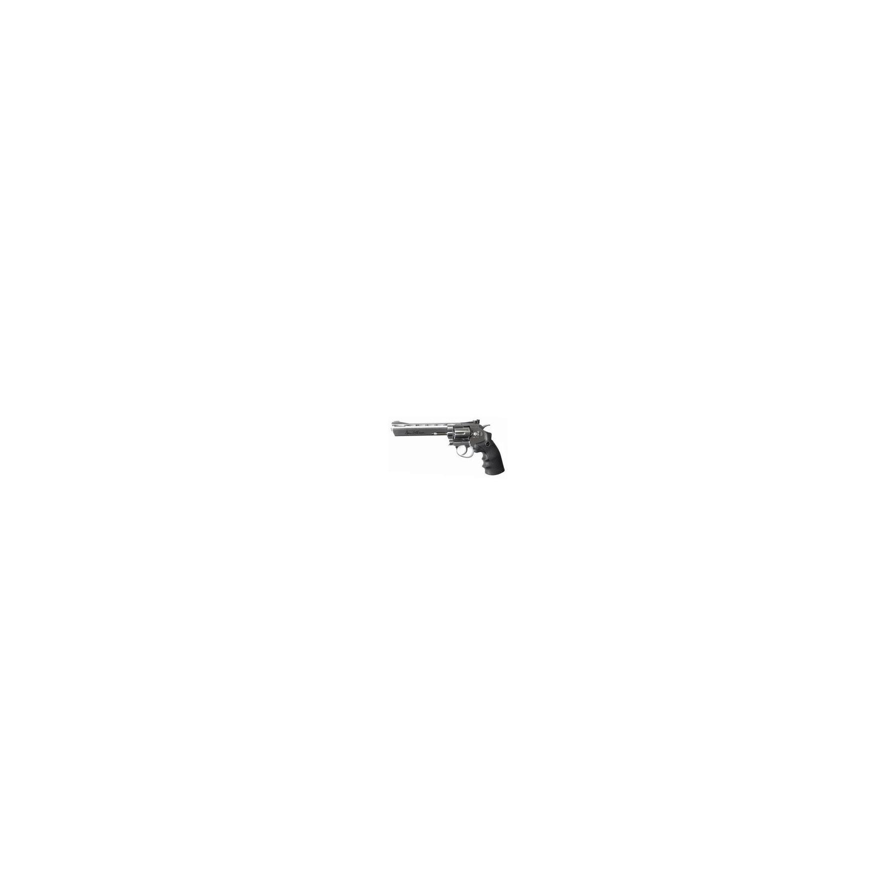 ASG DAN WESSON 6'' SILVER 4.50MM
