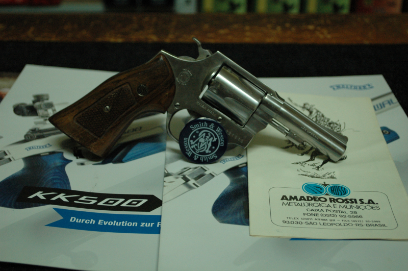 1678 - ROSSI M68 3'' STAINLESS STEEL CAL 38 SPECIAL AU PRIX DE 215.00€